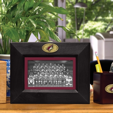 Arizona Coyotes BLACK Landscape Picture Frame