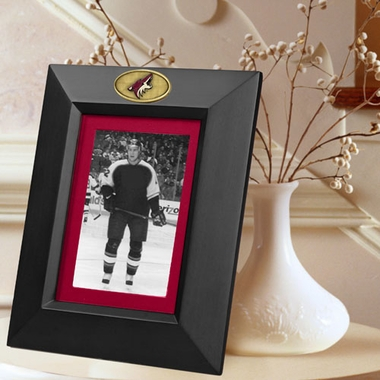 Arizona Coyotes BLACK Portrait Picture Frame