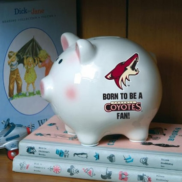Arizona Coyotes (Born to Be) Piggy Bank