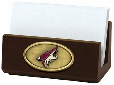 Arizona Coyotes Business Card Holder