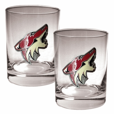 Arizona Coyotes Double Rocks Set
