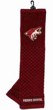 Arizona Coyotes  Embroidered Golf Towel
