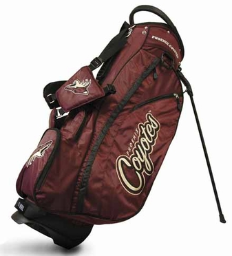 Arizona Coyotes Fairway Stand Bag