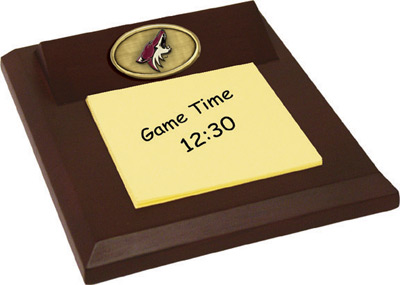 Arizona Coyotes Memo Pad Holder