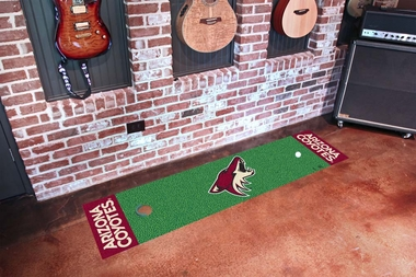 Arizona Coyotes Putting Green Mat