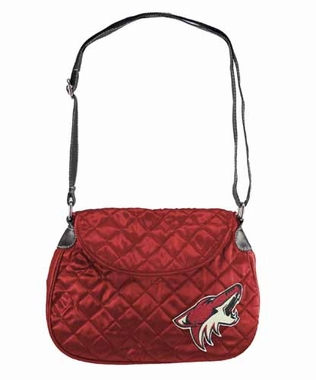Arizona Coyotes Quilted Saddlebag