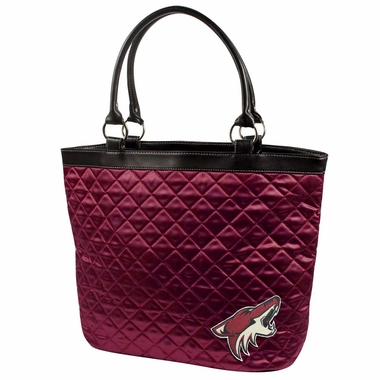 Arizona Coyotes Quilted Tote