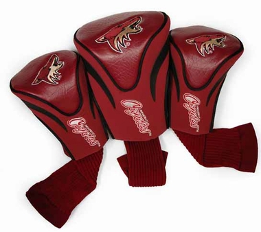 Arizona Coyotes Set of Three Contour Headcovers