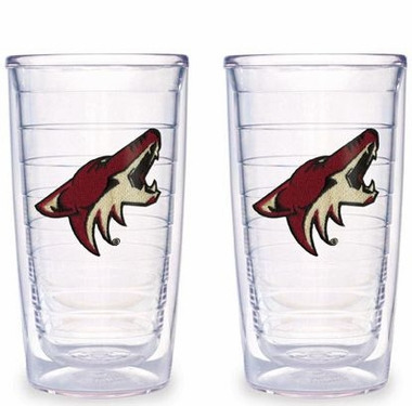 Arizona Coyotes Set of TWO 16 oz. Tervis Tumblers