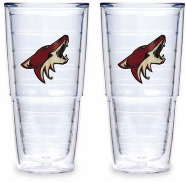 "Arizona Coyotes Set of TWO 24 oz. ""Big T"" Tervis Tumblers"