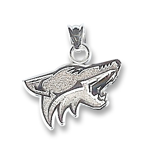 Arizona Coyotes Sterling Silver Pendant