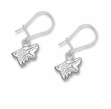 Arizona Coyotes Sterling Silver Post or Dangle Earrings