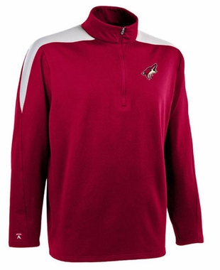 Arizona Coyotes Mens Succeed 1/4 Zip Performance Pullover (Team Color: Maroon)