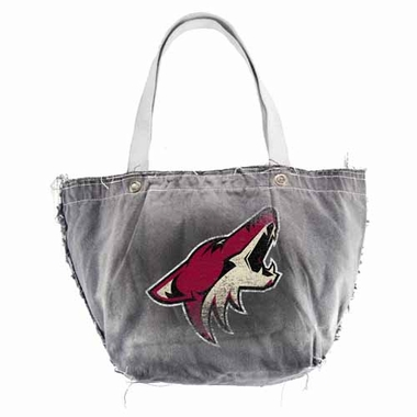 Arizona Coyotes Vintage Tote (Black)