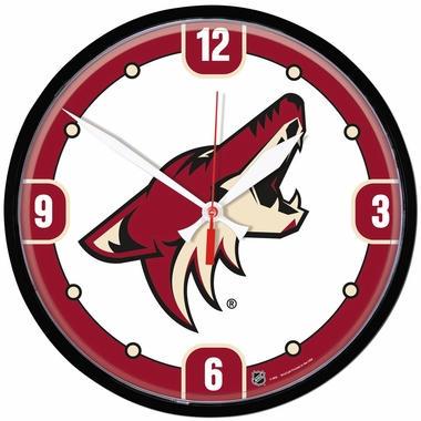 Arizona Coyotes Wall Clock
