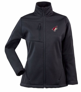 Arizona Coyotes Womens Traverse Jacket (Team Color: Black)