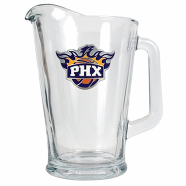 Phoenix Suns 60 oz Glass Pitcher