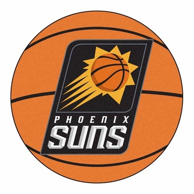 Phoenix Suns Basketball Shaped Rug