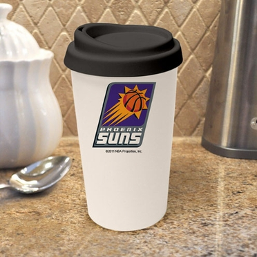 Phoenix Suns Ceramic Travel Cup