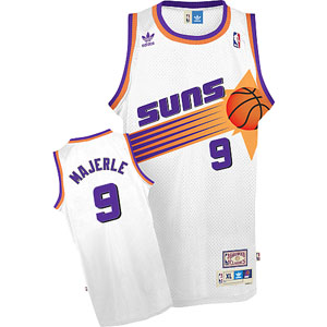 Phoenix Suns Dan Majerle White Throwback Replica Premiere Jersey - Large