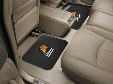Phoenix Suns SET OF 2 Heavy Duty Vinyl Rear Car Mats