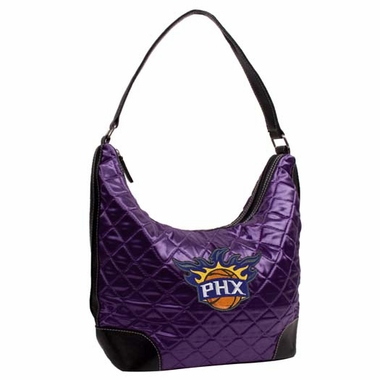 Phoenix Suns Quilted Hobo Purse