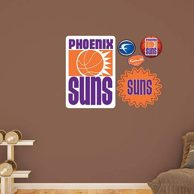 Phoenix Suns Throwback Logo Fathead Wall Graphic