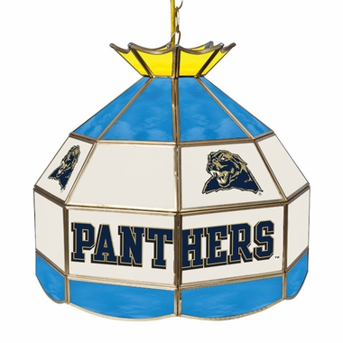Pitt 16 Inch Diameter Stained Glass Pub Light