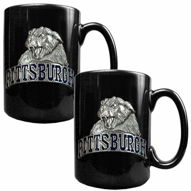 Pitt 2 Piece Coffee Mug Set
