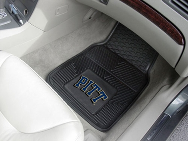 Pitt  2 Piece Heavy Duty Vinyl Car Mats