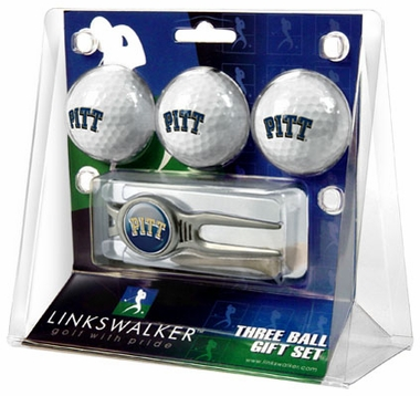 Pitt 3 Ball Gift Pack With Kool Tool