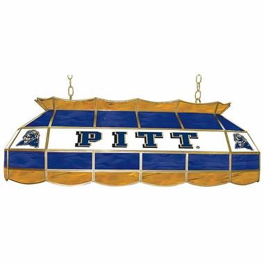 Pitt 40 Inch Rectangular Stained Glass Billiard Light