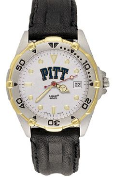 Pitt All Star Mens (Leather Band) Watch