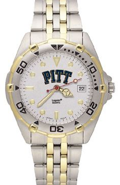 Pitt All Star Mens (Steel Band) Watch