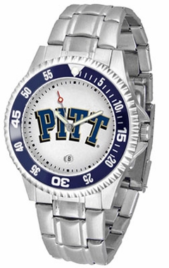 Pitt Competitor Men's Steel Band Watch
