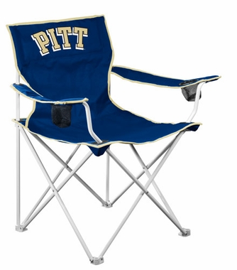 Pitt Deluxe Adult Folding Logo Chair