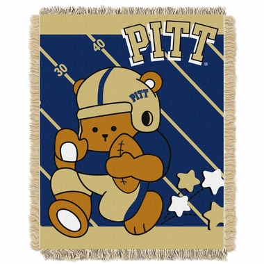 Pitt Jacquard BABY Throw Blanket