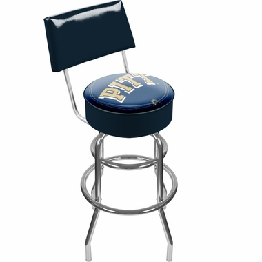 Pitt Padded Bar Stool with Back