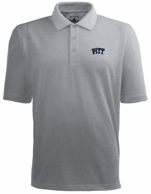 Pitt Mens Pique Xtra Lite Polo Shirt (Color: Gray)