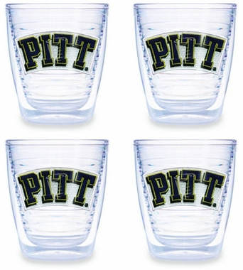 Pitt Set of FOUR 12 oz. Tervis Tumblers
