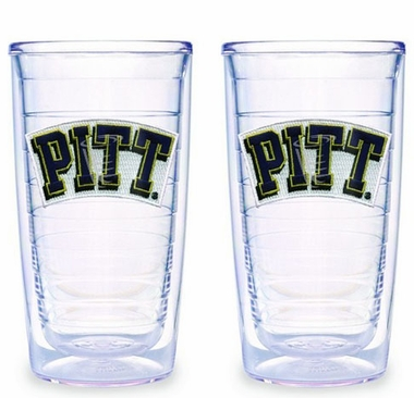Pitt Set of TWO 16 oz. Tervis Tumblers