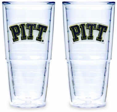Pitt Set of TWO 24 oz. Tervis Tumblers