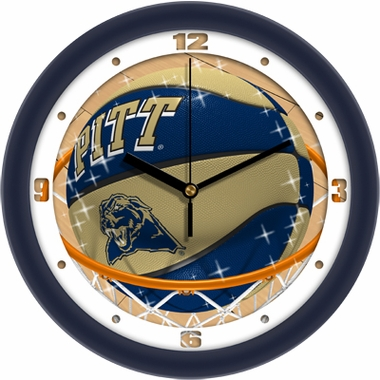 Pitt Slam Dunk Wall Clock