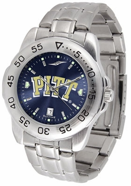 Pitt Sport Anonized Men's Steel Band Watch