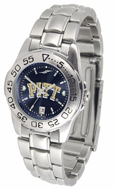 Pitt Sport Anonized Women's Steel Band Watch