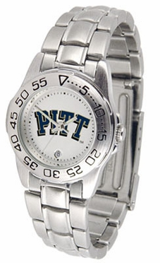 Pitt Sport Women's Steel Band Watch