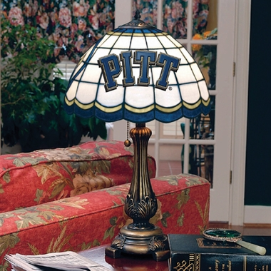 Pitt Stained Glass Table Lamp