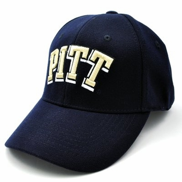 Pitt Team Color Premium FlexFit Hat