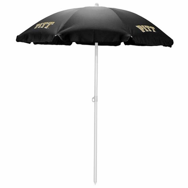 Pittsburgh Beach Umbrella (Black)