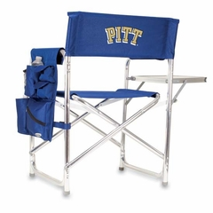 Pittsburgh Embroidered Sports Chair (Navy)